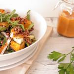 Roast Butternut and Quinoa Salad. Recipe and photography The Luminous Kitchen
