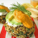 Quinoa and Kale Patties. Recipe and Photos The Luminous KItchen