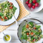 Zucchini salad LK