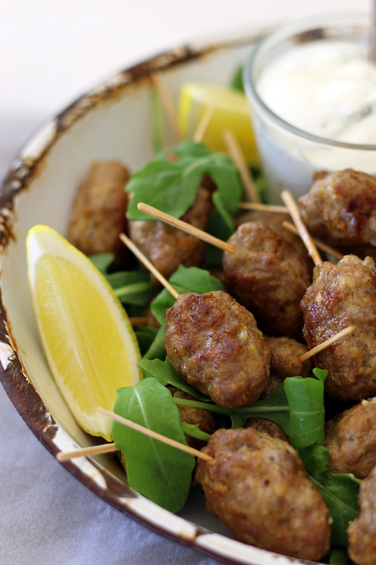 Lamb Koftas The Luminous Kitchen
