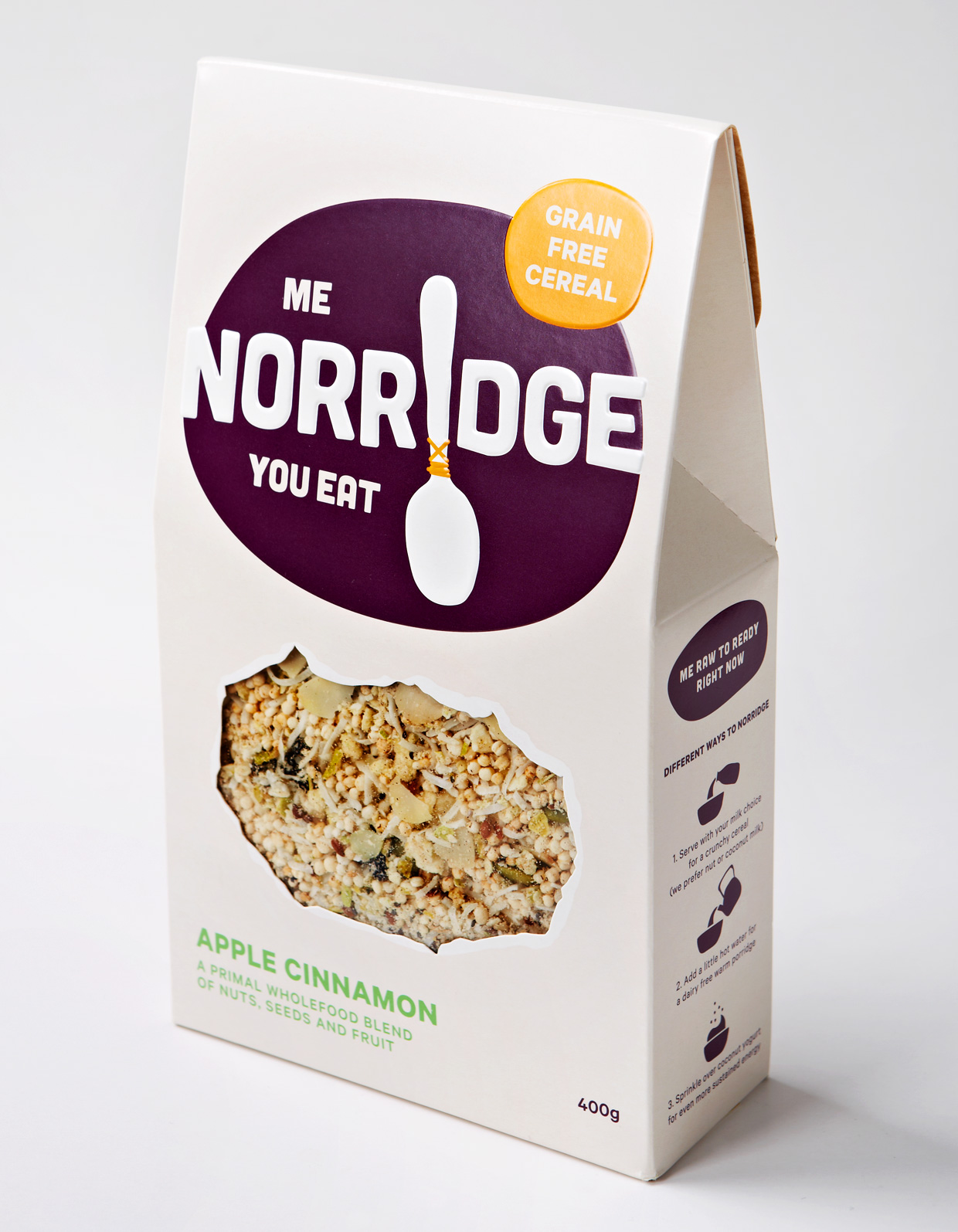 Norridge Paleo Grain Free Cereal ~ www.foodactually.com.au