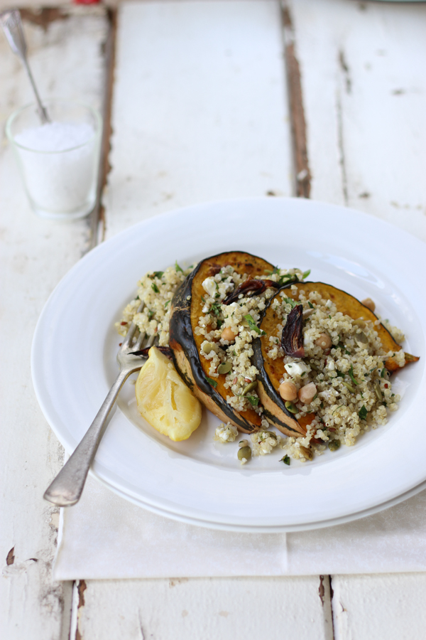 Roast Pumpkin and Quinoa Salad