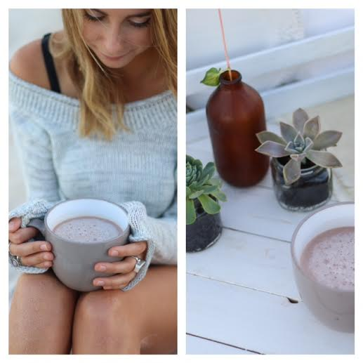 Healthy Hot Chocolate ~ The Luminous Kichen