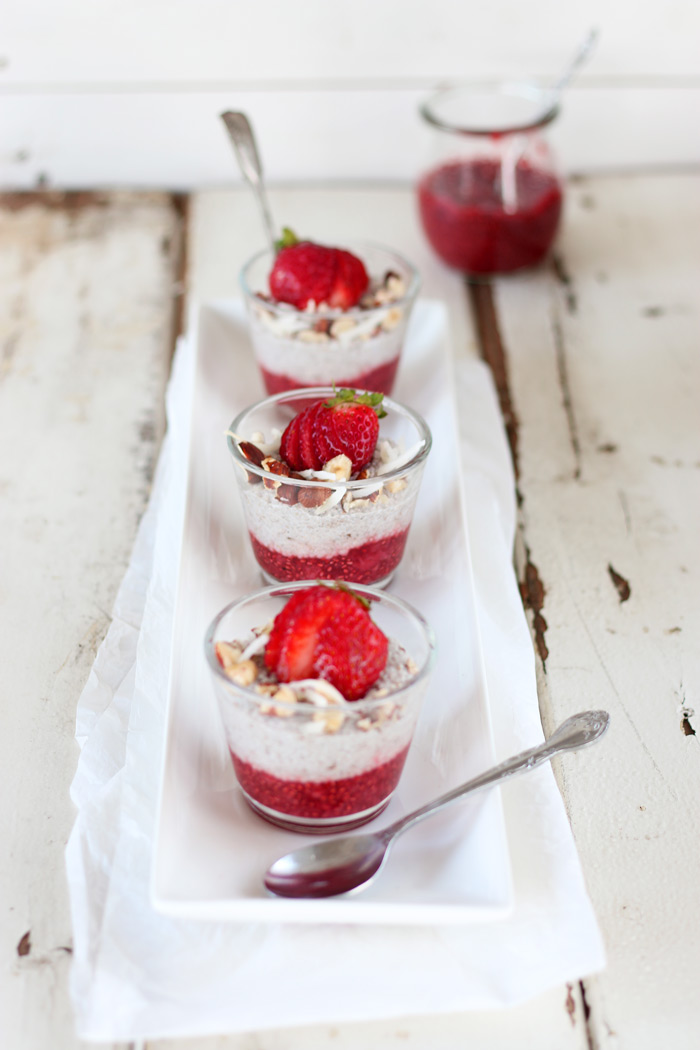 Breakfast Chia Puddings