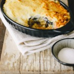 Moussaka with Healthy Cauliflower Bechamel Sauce ~ The Luminous Kitchen. Gluten Free