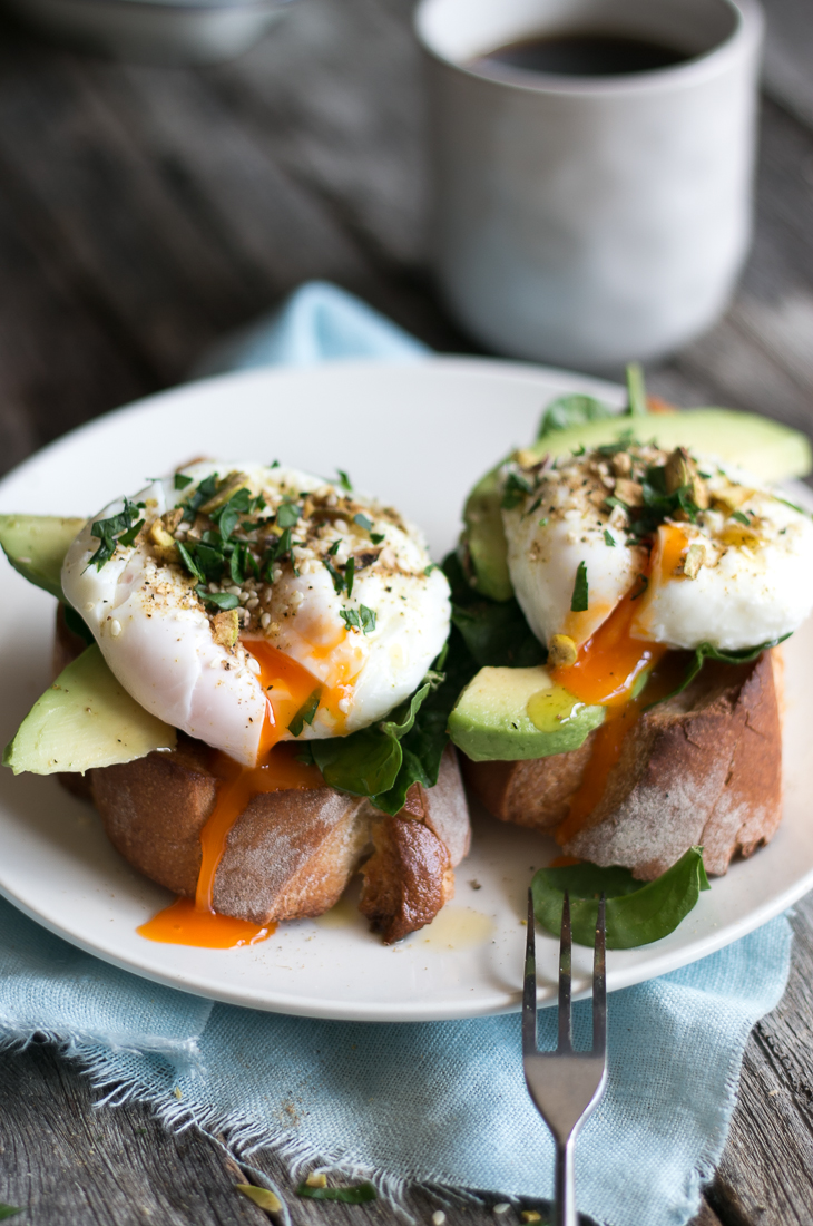 The Luminous Kitchen ~ How To Make Poached Eggs