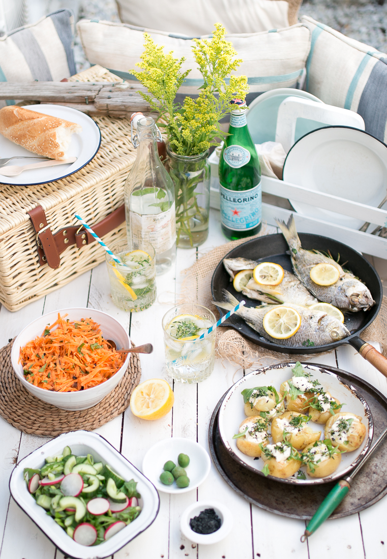 A Seaside Picnic ~ The Luminous Kitchen