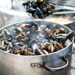 Mussels in white wine ~ The Luminous Kitchen