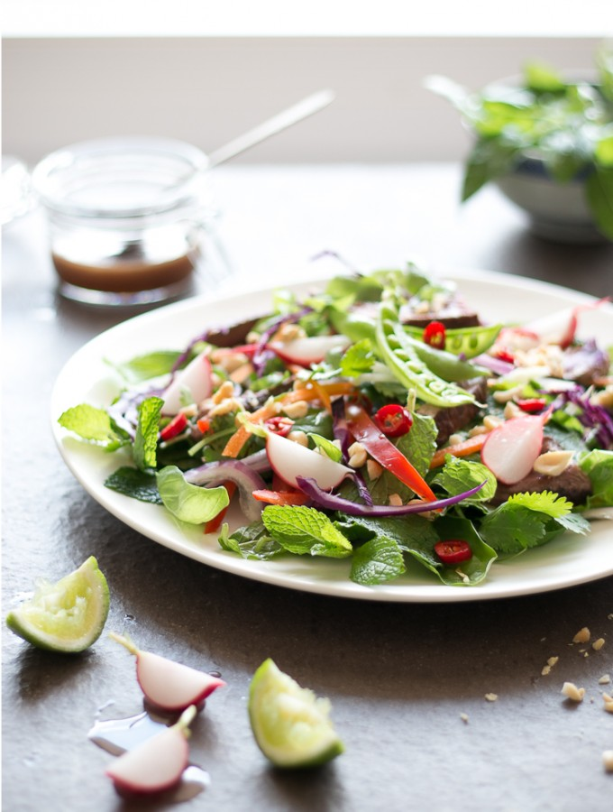 Thai Beef Salad with Tangy Tamarind Dressing