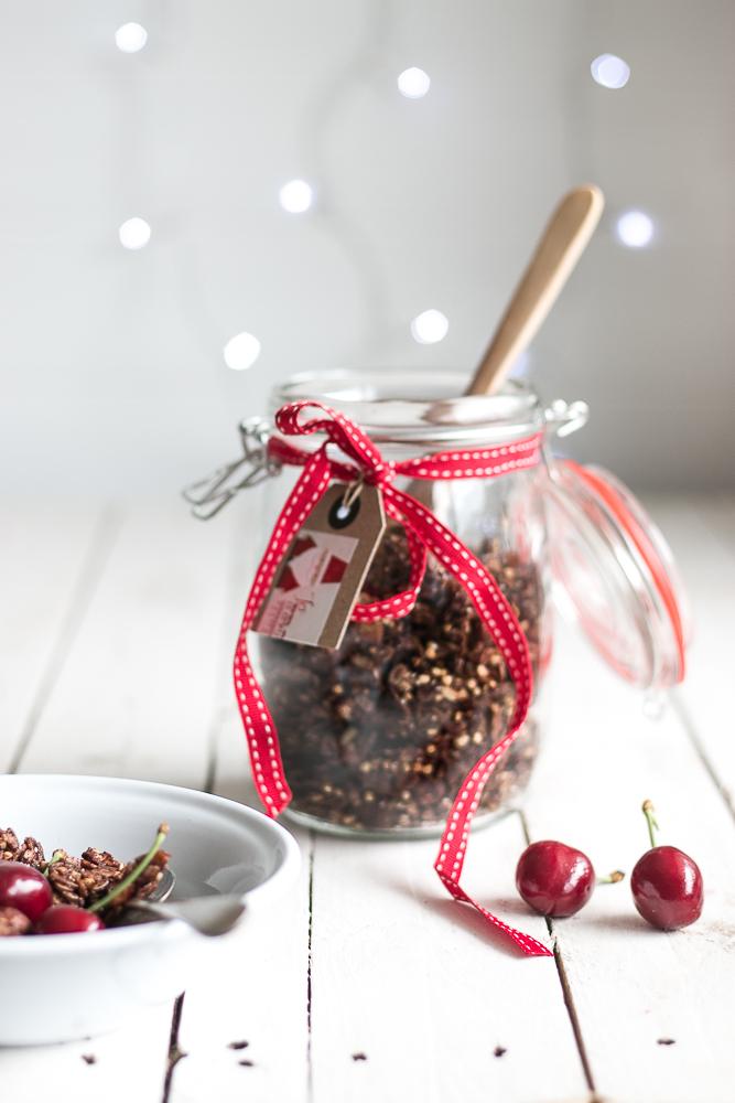 Chocolate Buckwheat Granola // The Luminous Kitchen