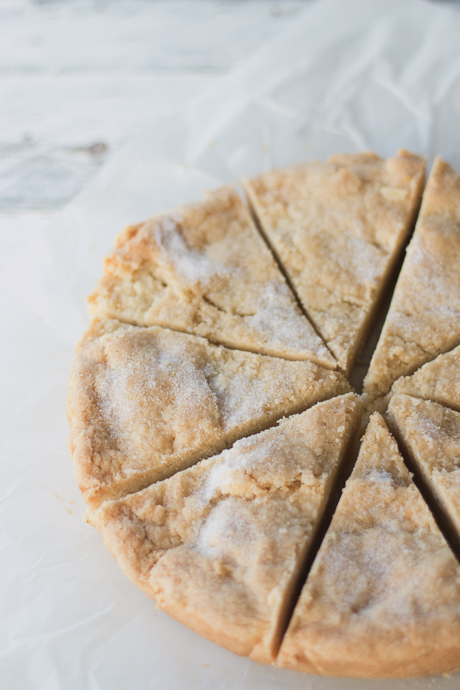 Vanilla Shortbread | The Luminous Kitchen
