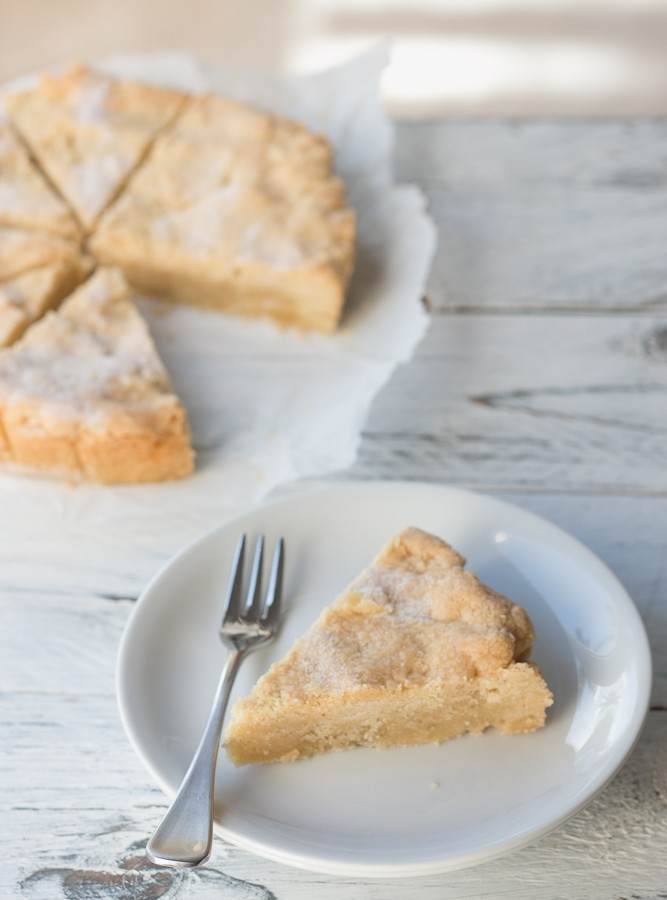 4 Ingredient Vanilla Shortbread