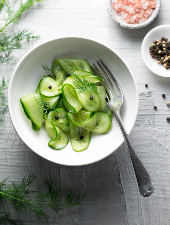 Pickled Cucumbers | The Luminous Kitchen