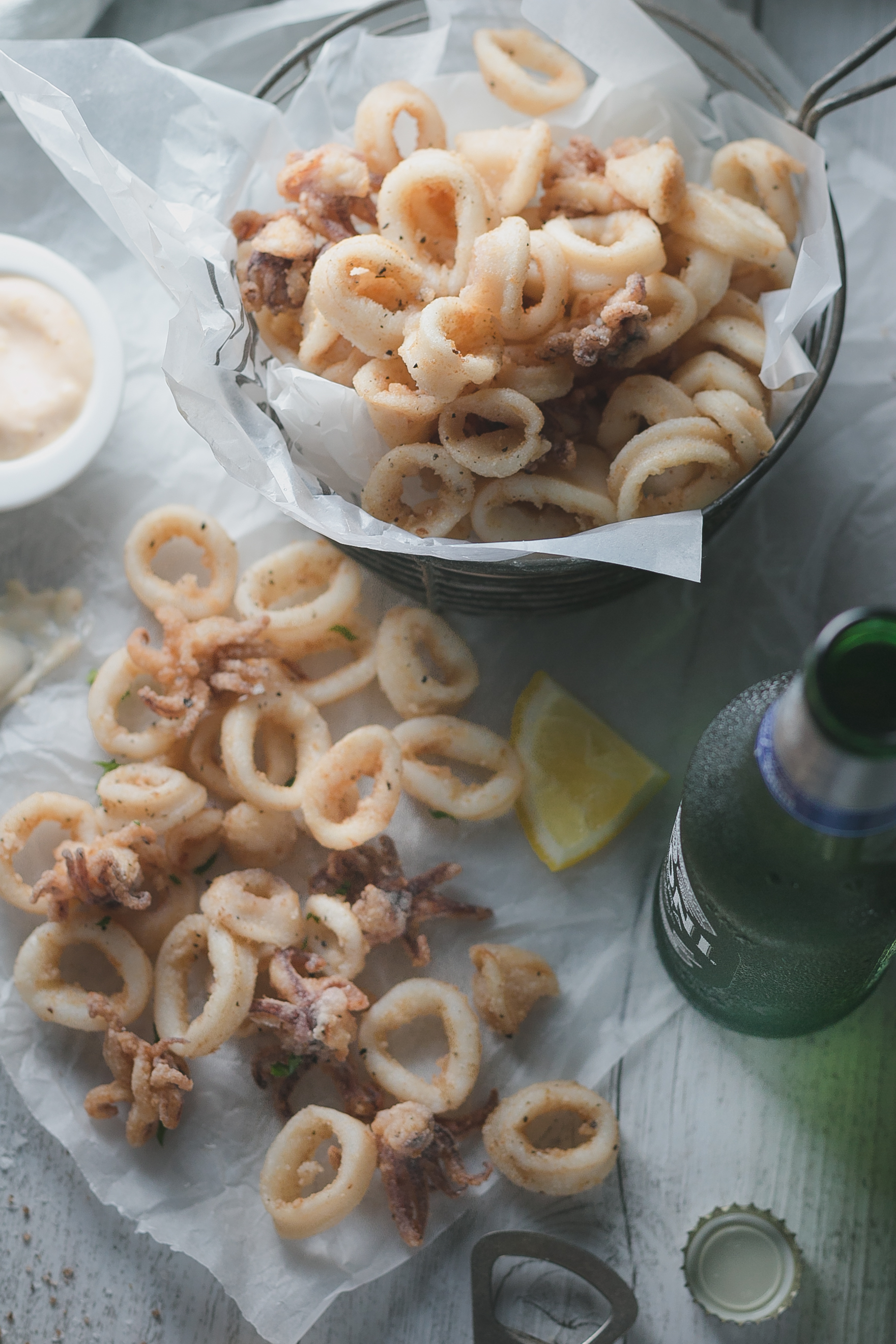 Gluten Free Fried Calamari || The Luminous Kitchen