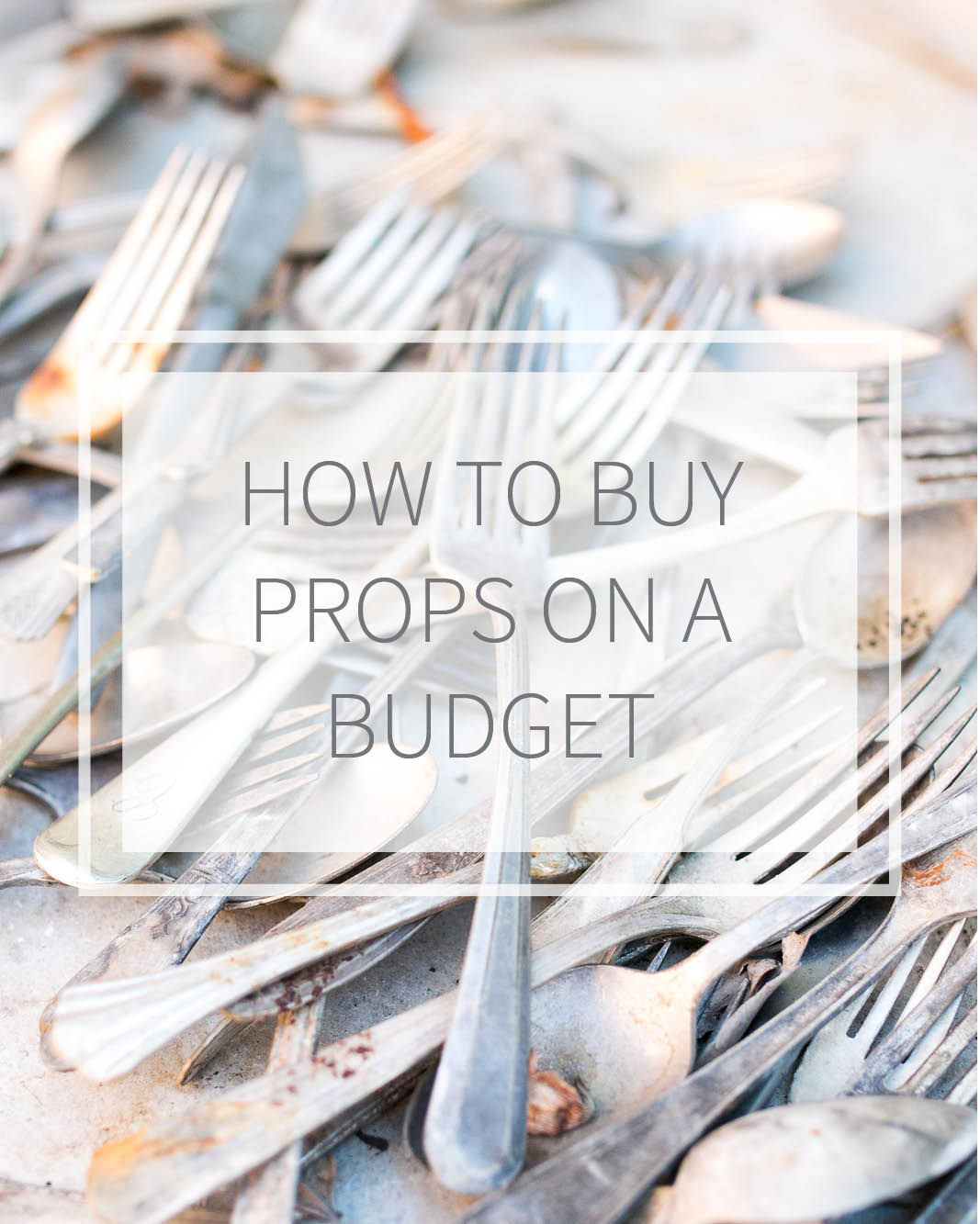 how to buy props on a budget