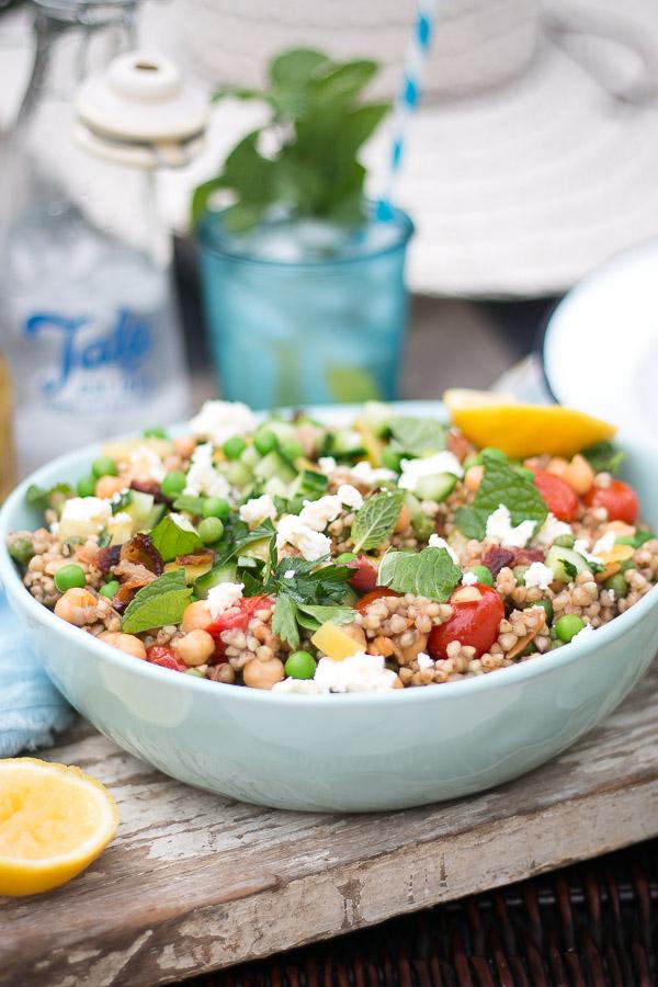 Italian Buckwheat Salad