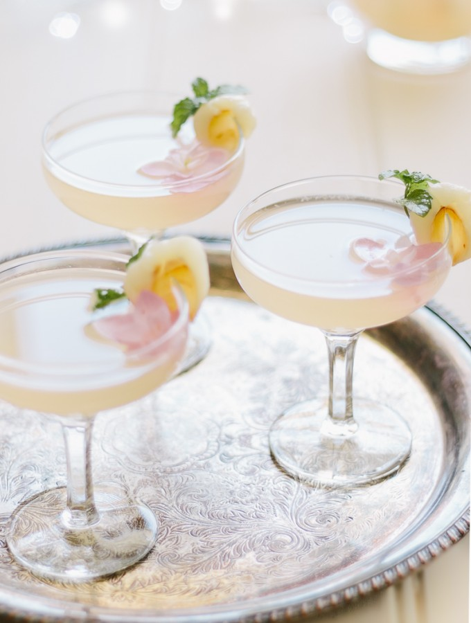 Grapefruit, Lime and Lychee Fizz