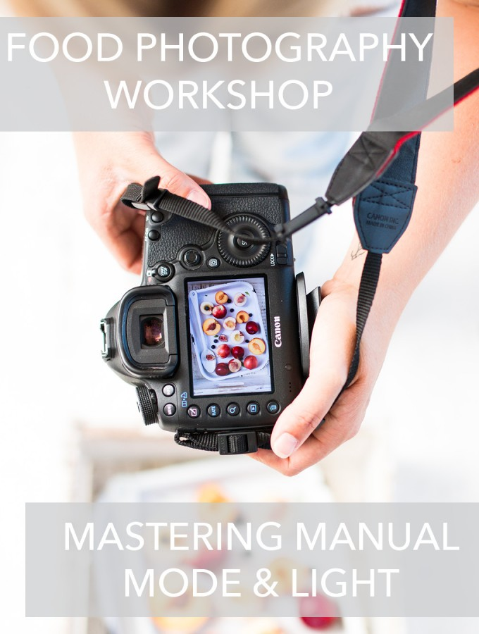 Food Photography Workshop : Mastering Manual Mode and Light