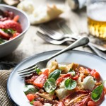 Caprese Panzanella Salad || The Luminous Kitchen